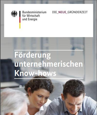 Förderung unternehmerischen Know-hows